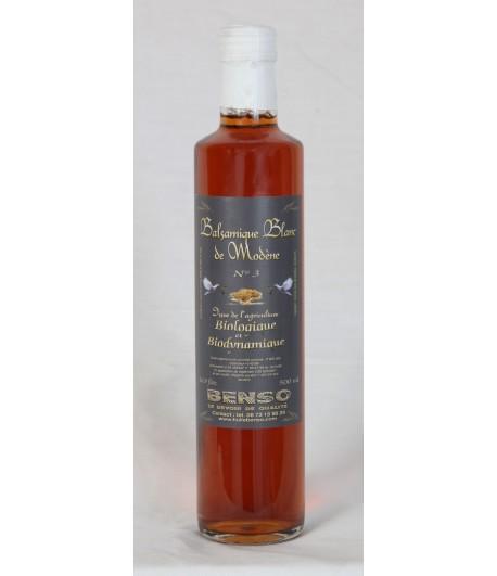 Balsamique blanc de modène biologique  500 ml