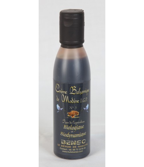 Organic and bio-dynamic balsamic cream of modena - 150 ml