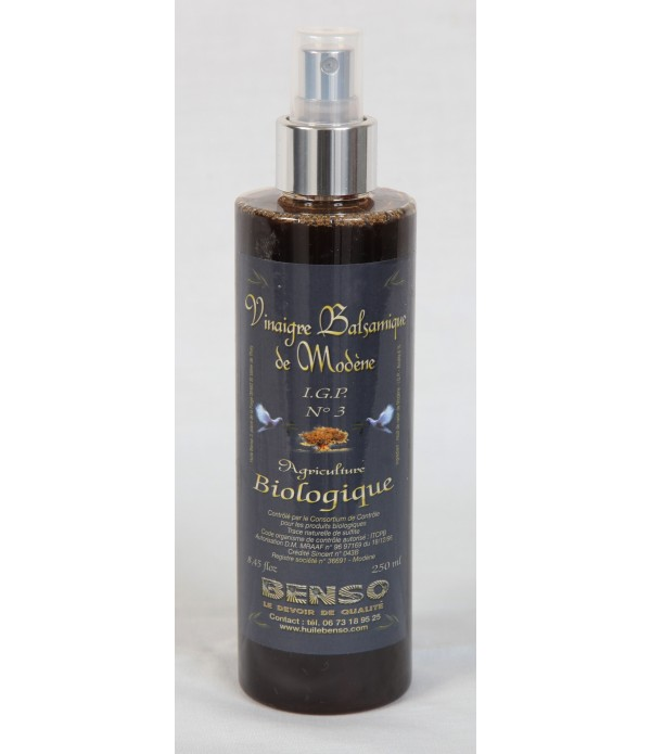 Spray vinaigre balsamique biologique  250ml