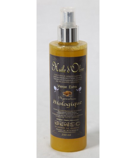 Spray d'huile d'olive biologique vierge extra - 250ml