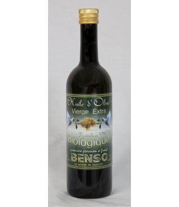 Huile d'olive biologique Benso 75 cl