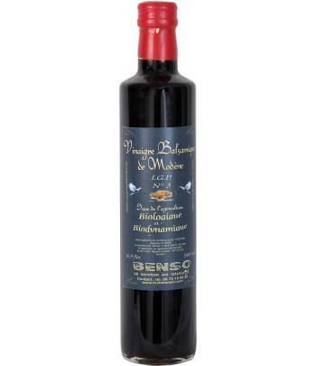 Vinaigre balsamique de modène biologique - 3 ans d'age - 250 ml