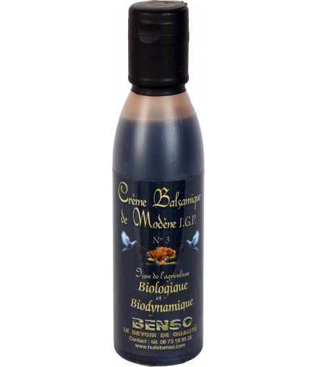 Organic and bio-dynamic balsamic cream of modena - 150 ml