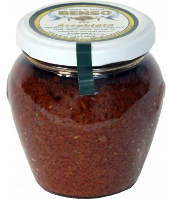 Arrabiata sauce pimentée -...